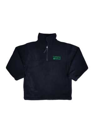 Carterton School Half Zip Polar Fleece Navy