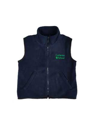 Carterton School Vest Navy